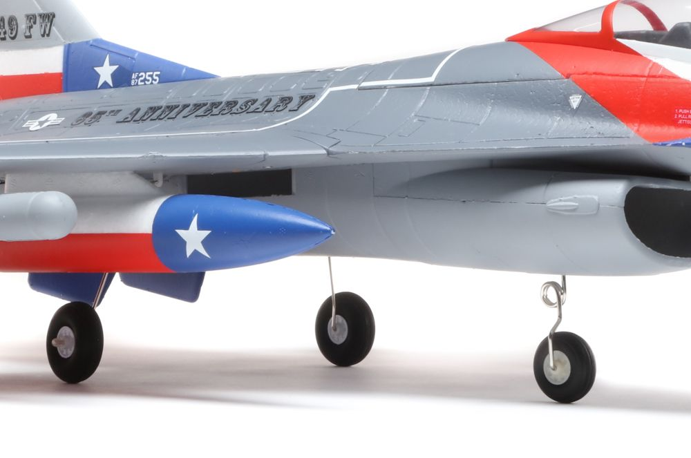 E-flite F-16 Falcon 64mm EDF PNP - Gear Options