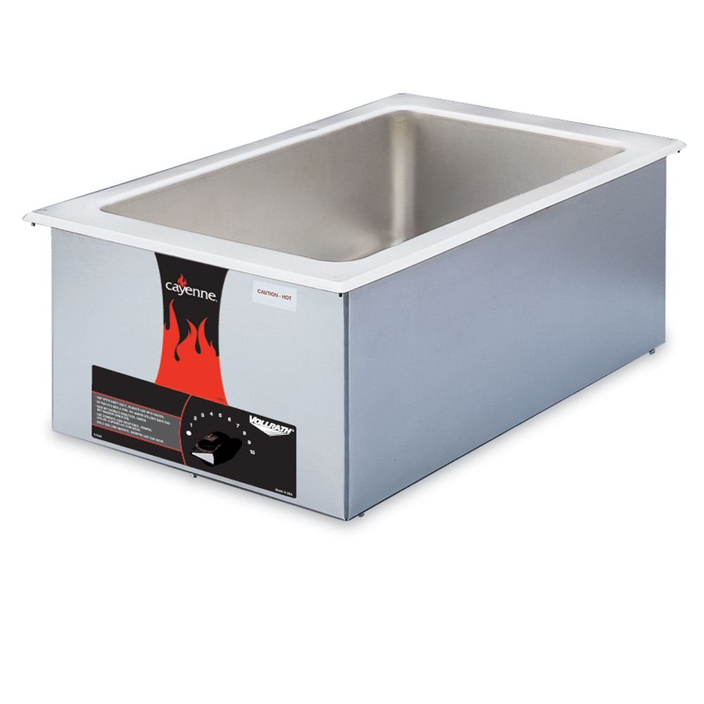 Vollrath® 72001 Cayenne® Model 2001 Drop-In Warmer