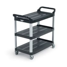 "Vollrath® 97006 Black Plastic 33"" Multi-Purpose Cart"