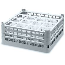 Vollrath 5276766 Gray Full Size Medium Plus 16 Compartment Glass Rack