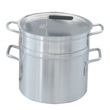 Vollrath 67708 Wear-Ever 10 Qt. Double Boiler with 8.5 Quart Inset
