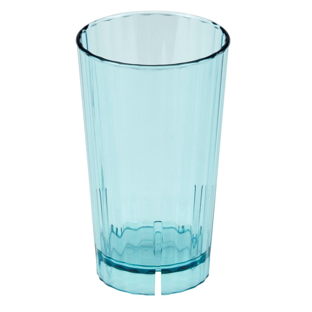 Cambro HT120CW196 Huntington Blue Camwear 12 Oz Tumbler - 36 / CS