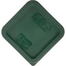 Carlisle 1074008 Green Lid for 2/4 Qt StorPlus Square Storage Container
