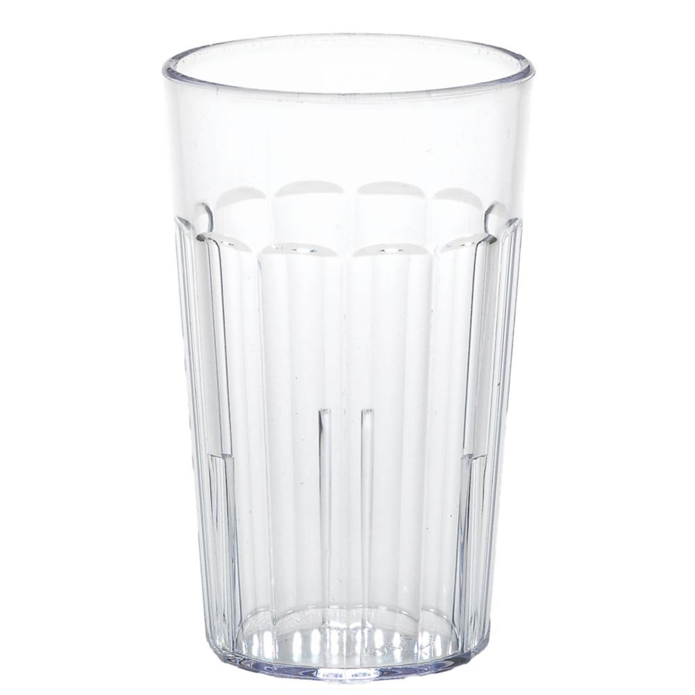 Cambro® NT10152 Newport Clear 10 Oz. Fluted Tumbler - 36 / CS