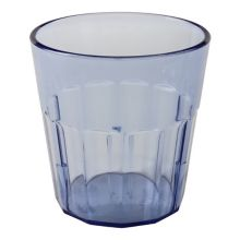 Cambro® NT9401 Newport Slate Blue 9 Oz. Fluted Tumbler - 36 / CS