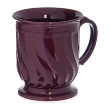 Dinex® DX300061 Turnbury Cranberry 8 Oz. Insulated Mug - 48 / CS