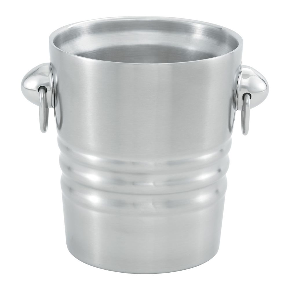Vollrath® 46616 S/S Double Wall 2.1 Quart Champagne / Wine Bucket