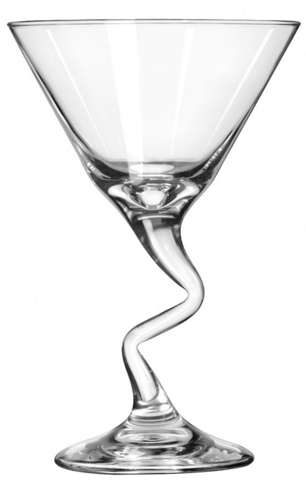 Libbey® 37799 Z-Stems 9.25 Ounce Martini Glass - 12 / CS
