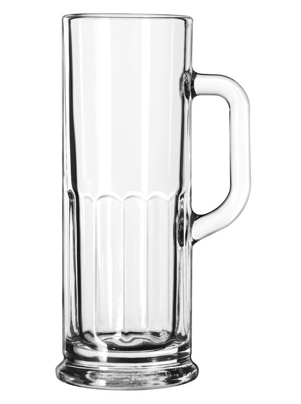 Libbey® 5003 Clear 4 Ounce Frankfurt Sampler Mug - 24 / CS
