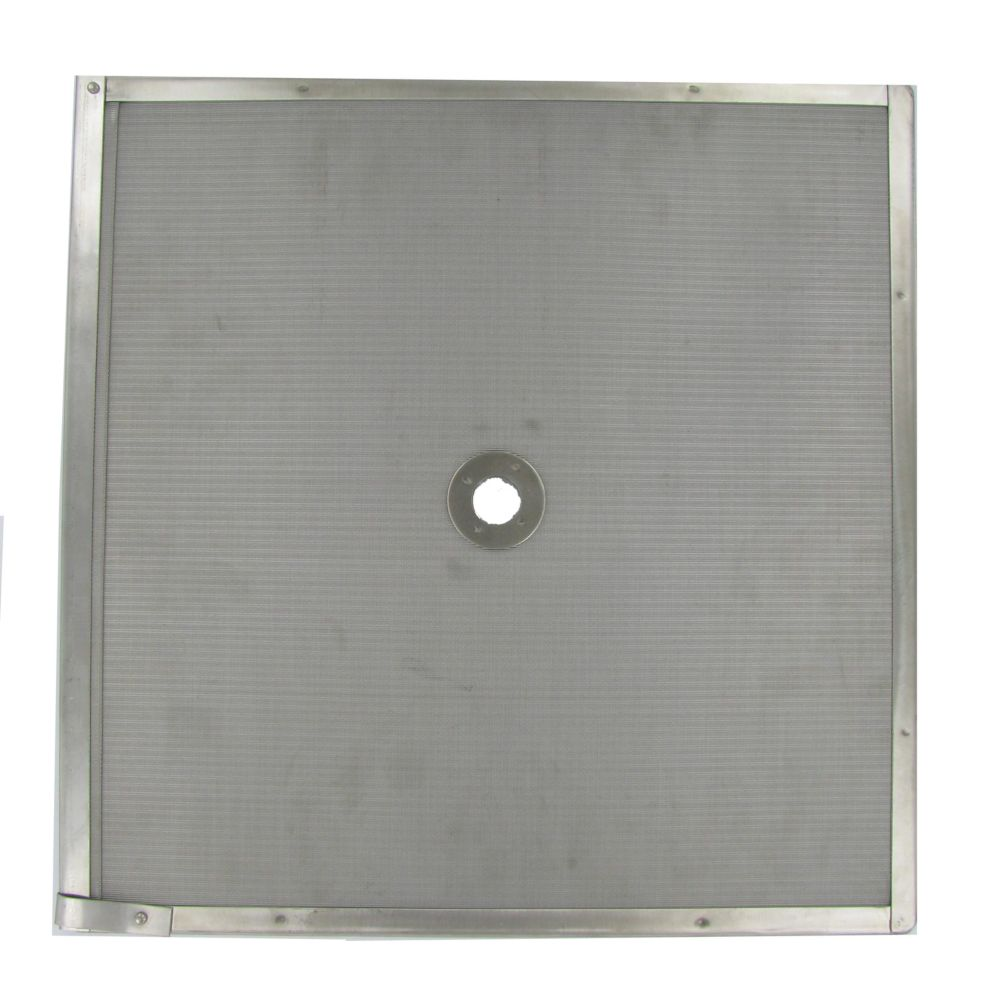 "Permafil 103561 Stainless Steel 16"" x 16"" Perforated Filter Screen"