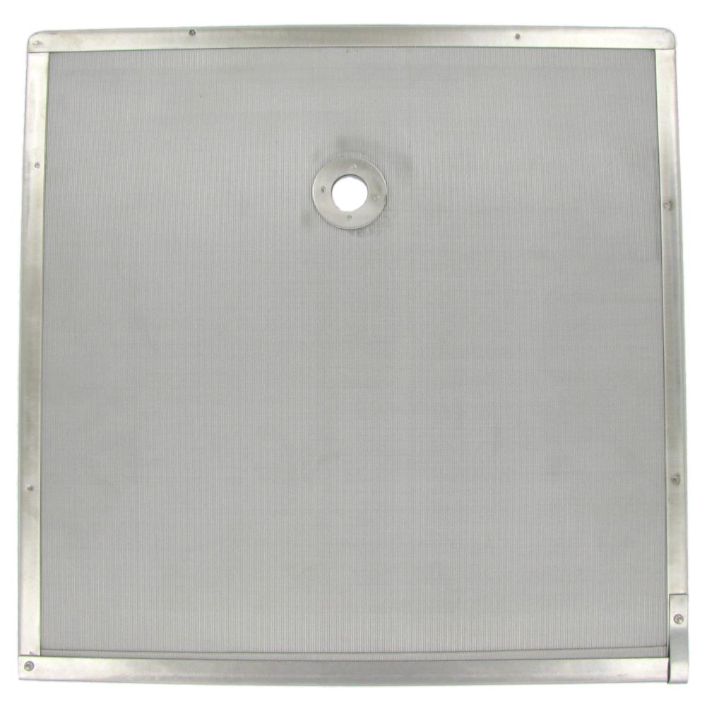 "Permafil 103638 Stainless Steel 16"" x 16"" Permanent Filter Screen"