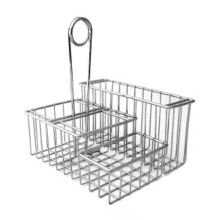 G.E.T. 4-21699 Metal 4-Compartment Caddy