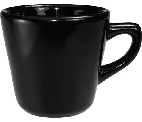 International Tableware CA-1-B Cancun Black 7 Oz Tall Cup - 36 / CS