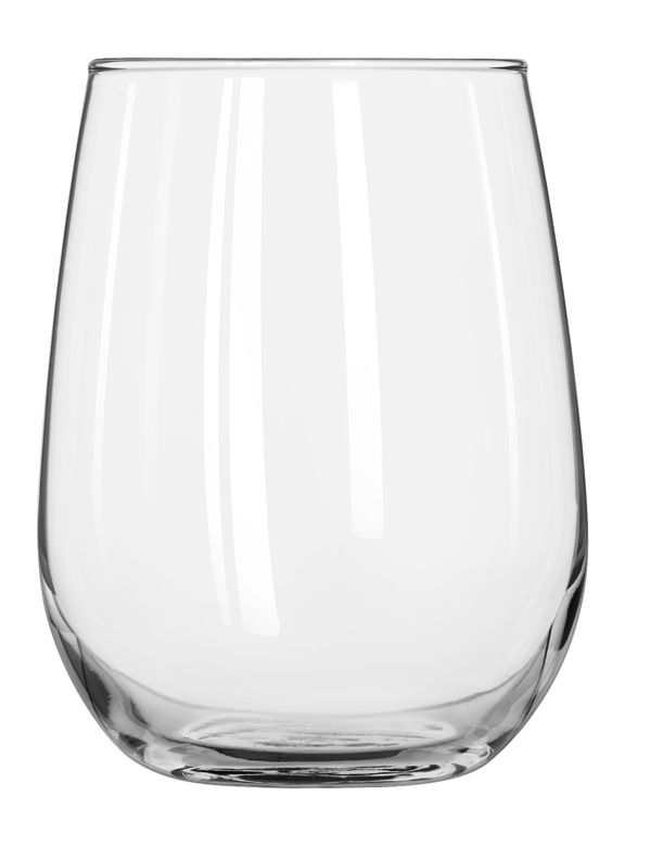 Libbey® 221 Stemless 17 Ounce White Wine Glass - 12 / CS