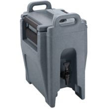 Cambro UC250191 Ultra Camtainer Granite Gray 2.75 Gal Beverage Carrier