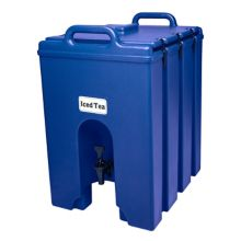 Cambro 1000LCD186 Camtainer Blue 11.75 Gal. Insulated Beverage Server