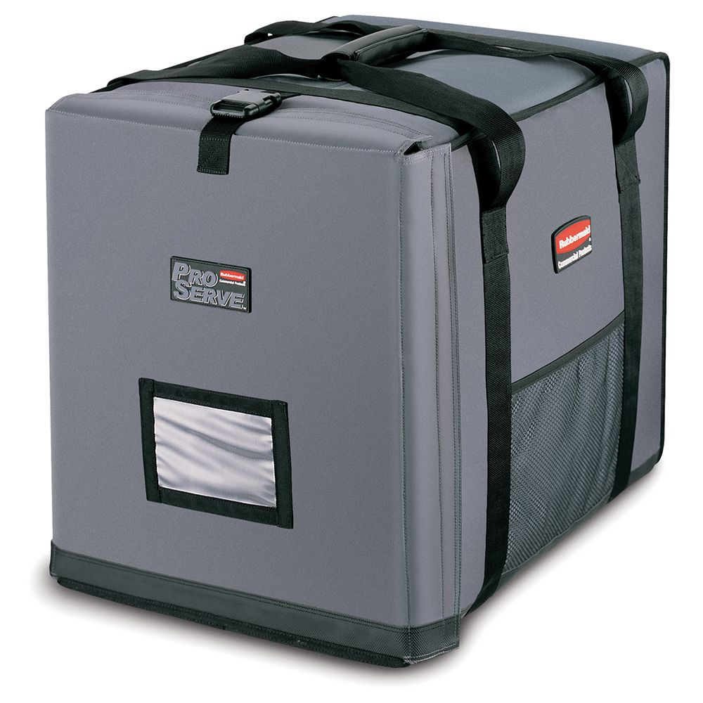 Rubbermaid FG9F1300CGRAY PROSERVE Insulated End-Load Full Pan Carrier