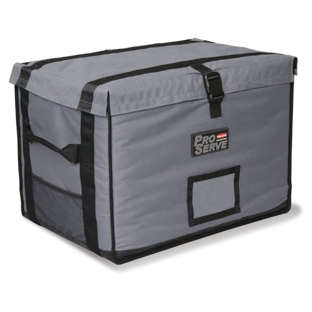 Rubbermaid FG9F1600CGRAY PROSERVE Insulated Top-Load Full Pan Carrier