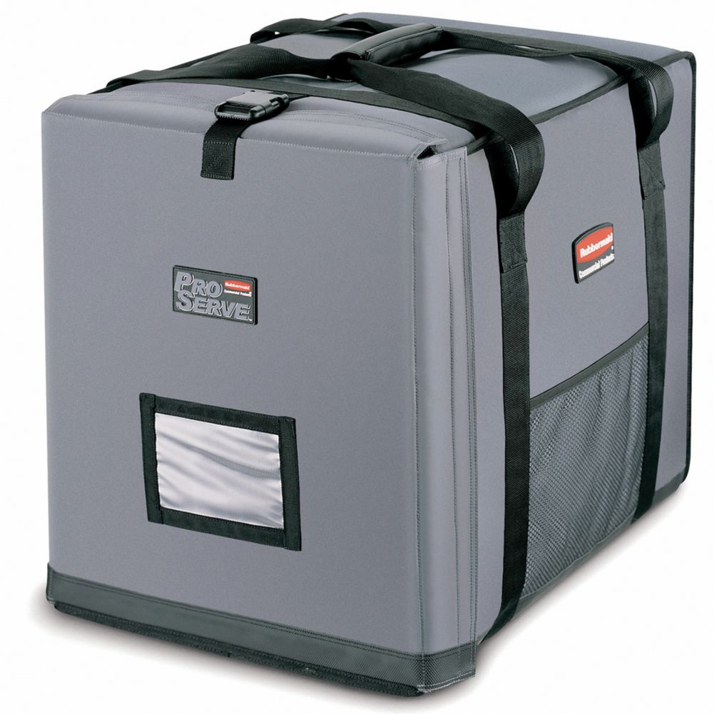 Rubbermaid FG9F1400CGRAY PROSERVE Insulated End-Load Full Pan Carrier