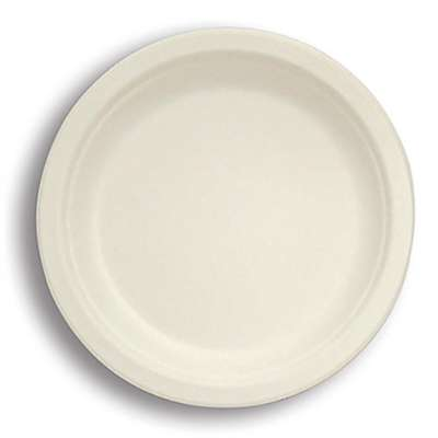 Stalk Market P005 Compostable 10 Inch To-Go Plate