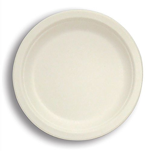 "Stalk Market P005 Compostable 10"" To-Go Plate - 500 / CS"