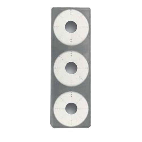 Dispense-Rite 3-Hole Replacement Baffle for Cone Dispenser