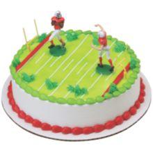 DecoPac® 31692 Football Touchdown DecoSet - 6 / BX