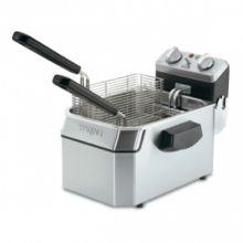 Waring Commercial WDF1000 Heavy-Duty 120V Single 10 lb. Deep Fryer