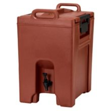 Cambro UC1000402 Ultra Camtainer Brick Red 10.5 Gal. Beverage Carrier