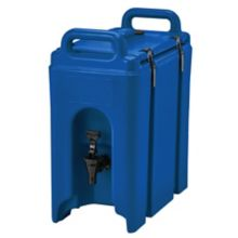 Cambro 250LCD186 Camtainer Blue 2.5 Gal. Insulated Beverage Camtainer
