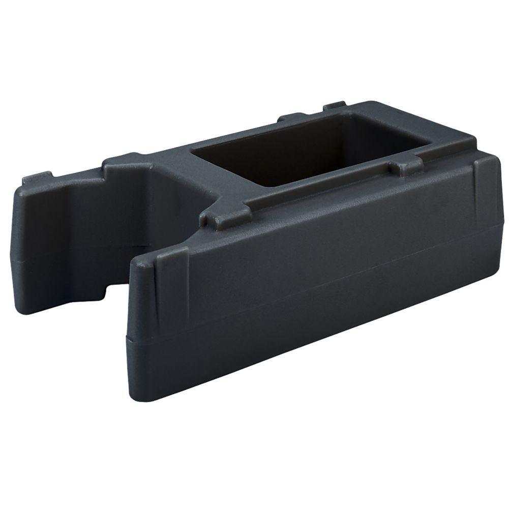 Cambro® R500LCD110 Black Small Riser for Camtainers®