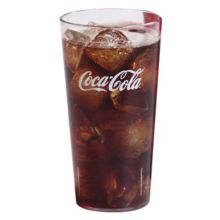 Carlisle® 52203550A 20 Oz. Clear Stackable Tumbler - Dozen