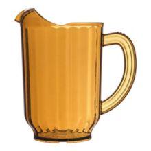 Carlisle® 554013 VersaPour 60 Oz. Amber Pitcher