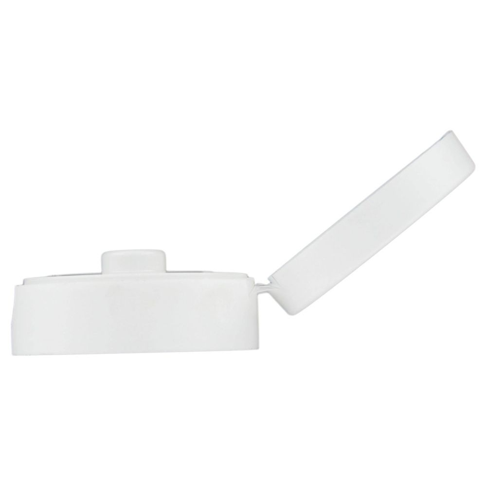 Traex 2822-05 White Flowcut Replacement Lid f/ Squeeze Bottle
