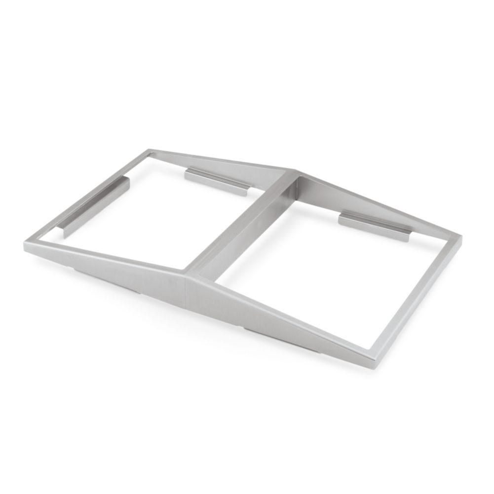 Vollrath 19184 S/S Dual Sided Angled Adaptor Plate For Half Size Pans