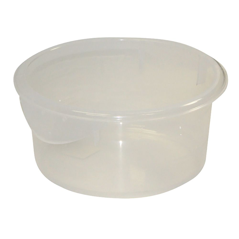 Rubbermaid® FG572024CLR Round Clear 2 Quart Storage Container