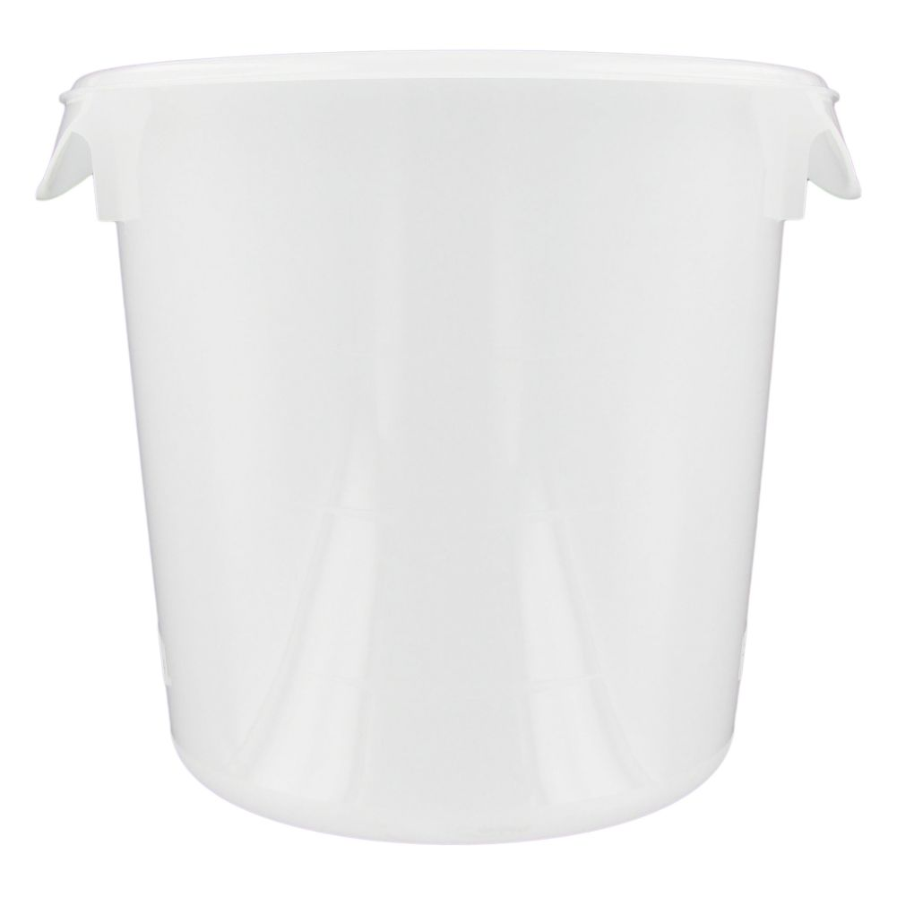 Rubbermaid® FG572100 Round White 4 Quart Storage Container