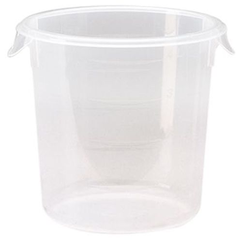 Rubbermaid® FG572124CLR Round Clear 4 Quart Storage Container