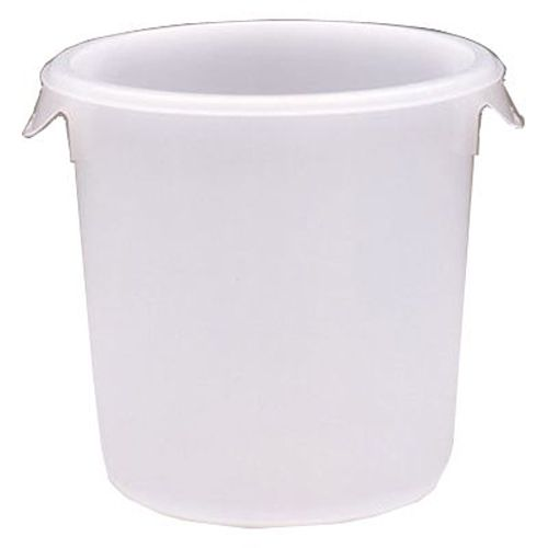 Rubbermaid® FG572400 Round White 8 Quart Storage Container
