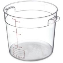 Carlisle® 1076507 StorPlus 6 Qt. Clear Food Storage Container