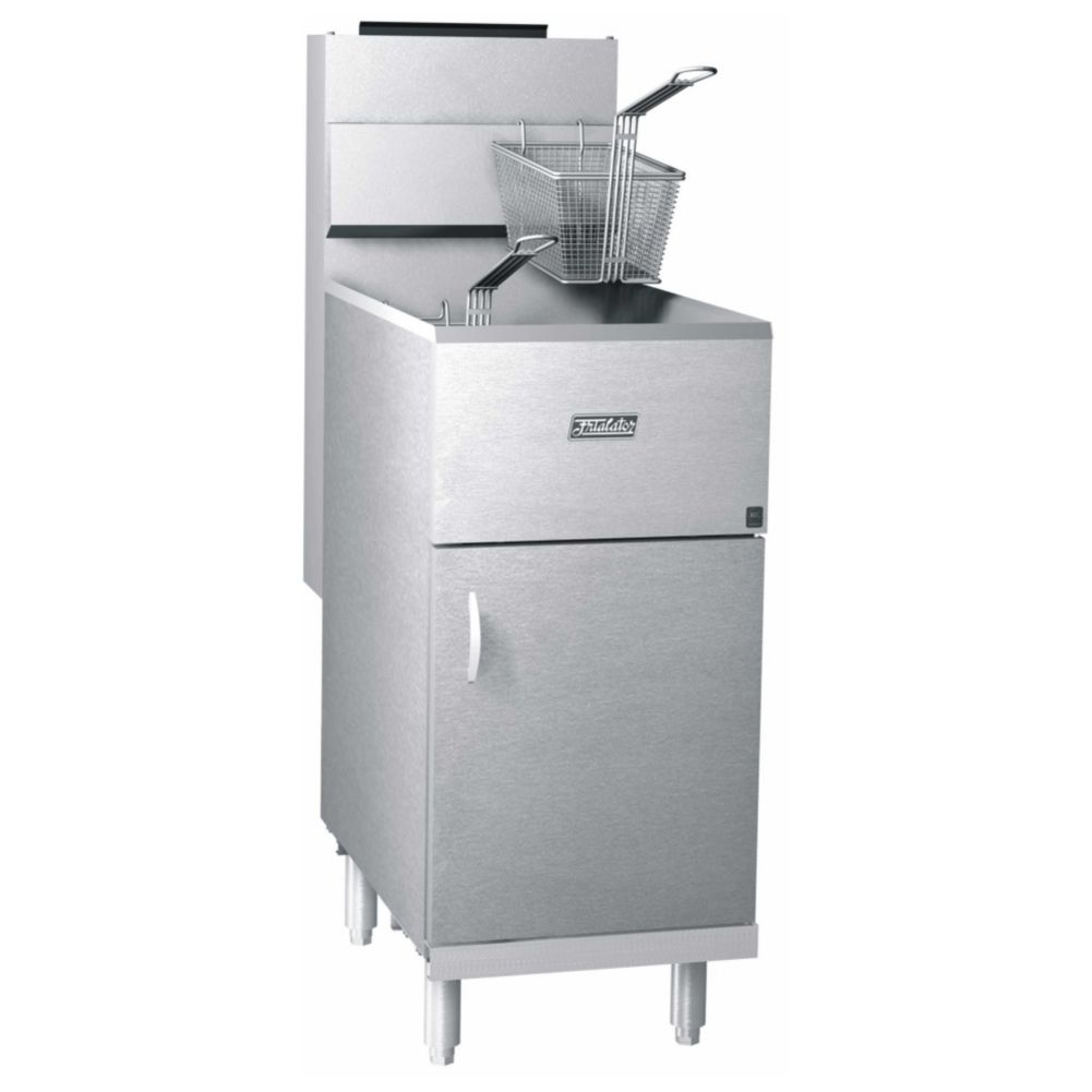 Pitco Frialator 40S Economy 40-45 lb 105,000 BTU Natural Gas Fryer