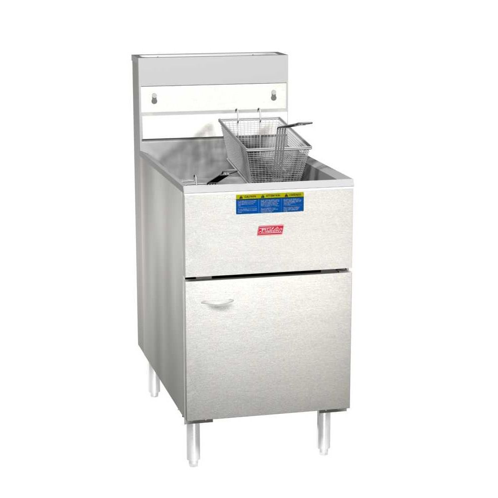 Pitco® Frialator 65S Economy 60-80 Lb Natural Gas Fryer