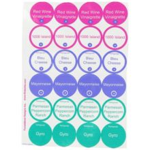 FIFO 8010 Salad Dressing Label Sheets - 24 / SH