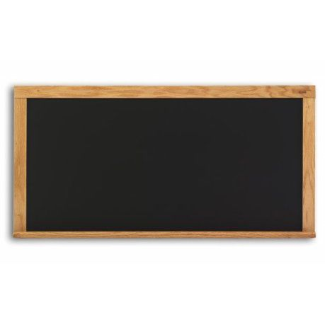 "Marsh Chalkboard WS-182-00BL Black Single Sided 18"" x 24"" Chalkboard"