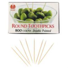 Disco® RH24 Unwrapped Round Hotel Toothpicks - 800 / BX