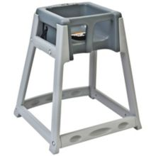 Koala Kare KB877-01 KidSitter Gray High Chair with Gray Seat