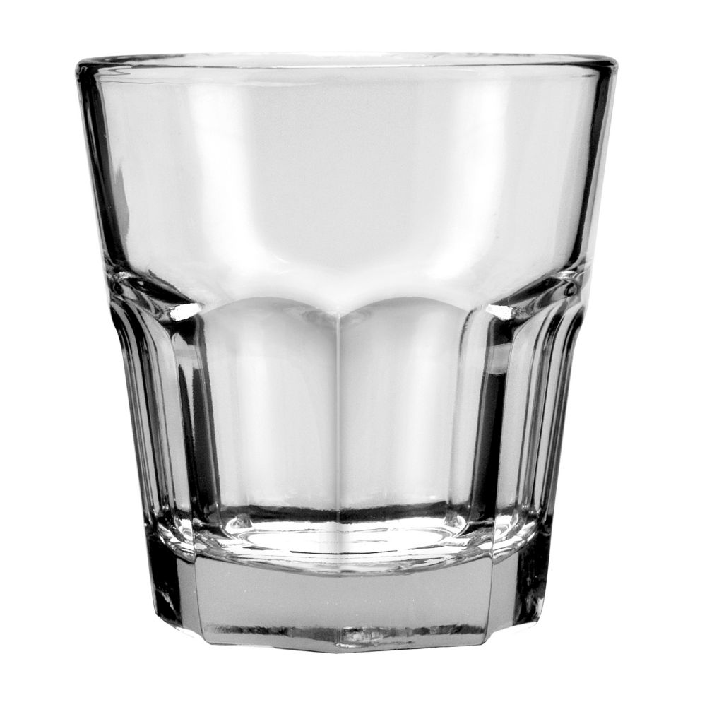 Anchor Hocking 90008 New Orleans Tempered 9 oz Rocks Glass - 36 / CS
