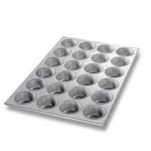 Chicago Metallic 45525 Glazed 24-Cavity Cupcake / Muffin Pan