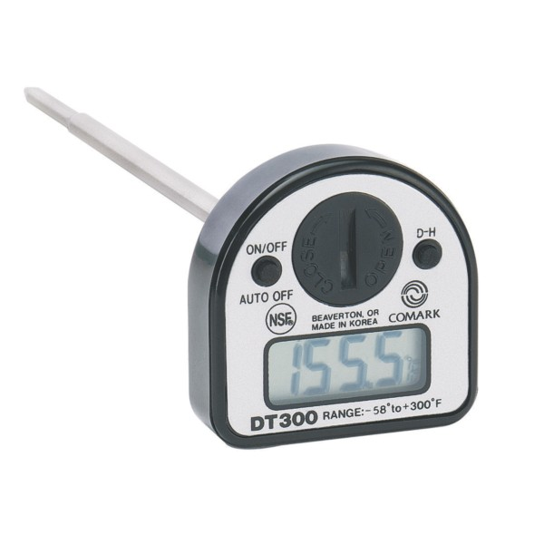 Comark DT300 Water Resistant Digital Thermometer