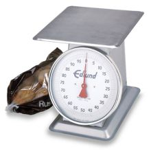 Edlund HD-100 HD Series S/S Mechanical Dial 100 Pound Receiving Scale